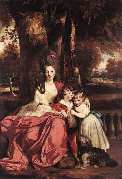 Lady Delme and her children EUR